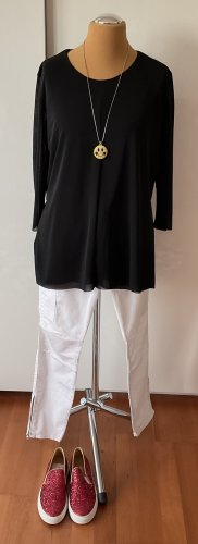 COS Tunic Blouse black polyester