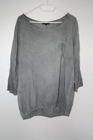 Vestino Oversized Shirt silver-colored cotton