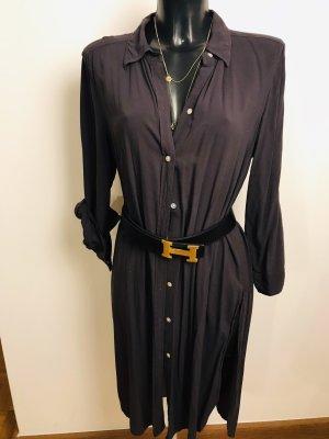 Shirtwaist dress petrol-dark blue
