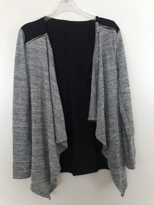Made in Italy Blazer sweat nero-grigio