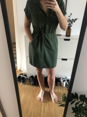 Reserved Shirtwaist dress khaki