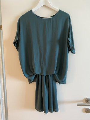 Pepe Jeans Sukienka z krótkim rękawem ciemnozielony