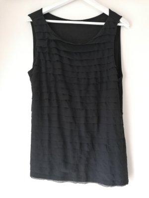 H&M Top largo negro