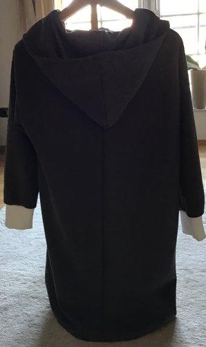 Misslook Sudadera con capucha gris oscuro