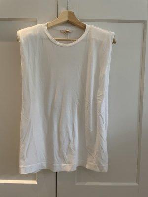 H&M Camisa holgada blanco Algodón