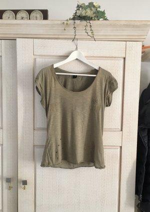 Lässiges Shirt von Calvin Klein, Destroyed Look