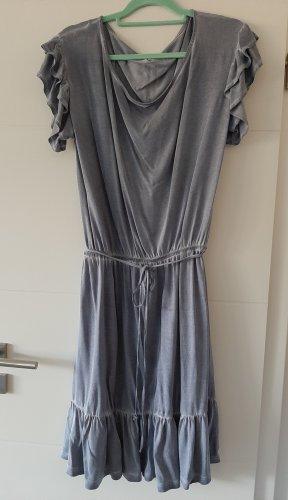 Rockgewitter Sukienka o kroju koszulki srebrny-błękitny