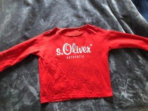 Sir Oliver Sweatshirt rouge