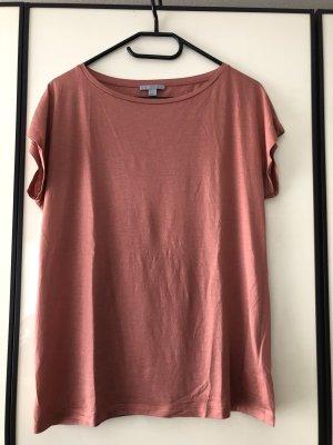 COS T-shirt roodbruin