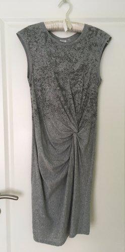 Object Vestido de Verano gris claro-gris oscuro Algodón
