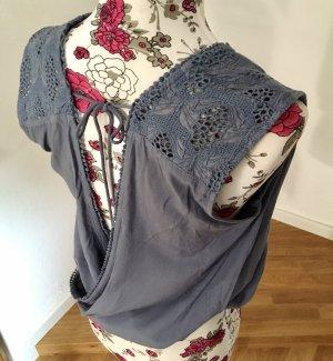 edc by Esprit Gehaakt shirt azuur