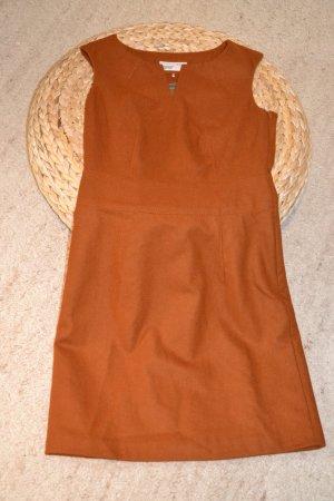 Esprit Vestido de lana coñac