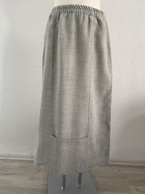 Lagenlook Oversize Grau M/L Strick Filz Wolle