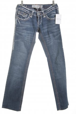 Laguna Beach Straight-Leg Jeans blassblau Casual-Look