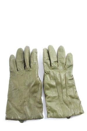 Laimböck Leren handschoenen khaki casual uitstraling