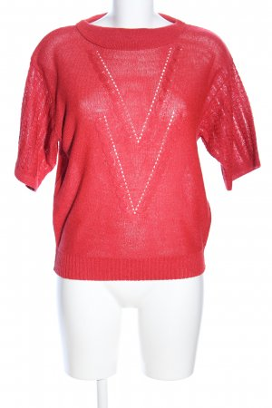 Strickshirt rot Casual-Look