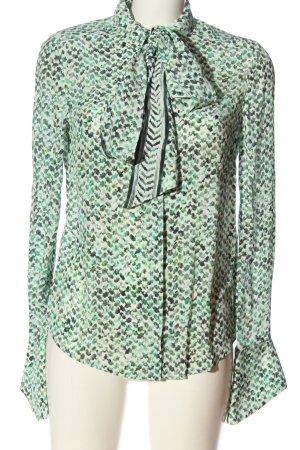 Lala Berlin Hemd-Bluse abstraktes Muster Casual-Look