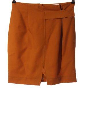 Lala Berlin Jupe taille haute orange clair élégant