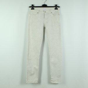 Lala Berlin Jeans skinny blanc-gris clair coton