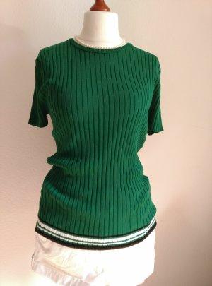 Lala Berlin Short Sleeve Sweater multicolored cotton