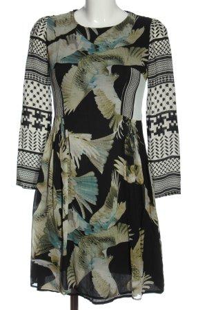 Lala Berlin Longsleeve Dress graphic pattern elegant