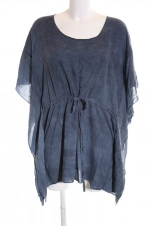 Lala Berlin Oversized Bluse blau Casual-Look