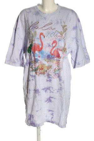 Lala Berlin Robe t-shirt motif de fleur style décontracté