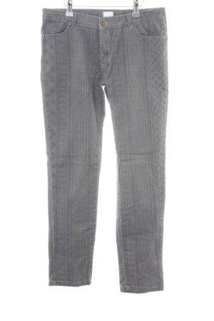 Lala Berlin Jeans skinny gris clair Mélange de motifs style décontracté