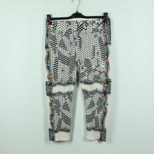 Lala Berlin Woolen Trousers white-black wool