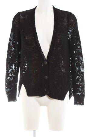 Lala Berlin Veste en tricot noir style décontracté