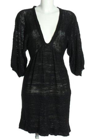 Lala Berlin Robe en maille tricotées noir style décontracté