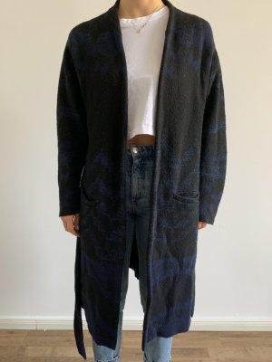 Lala Berlin Manteau oversized bleu foncé laine