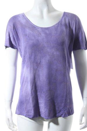 Lala Berlin T-shirts en mailles tricotées violet gradient de couleur