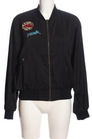 Lala Berlin Reversible Jacket animal pattern casual look