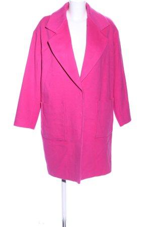 Lala Berlin Wollmantel pink Casual-Look
