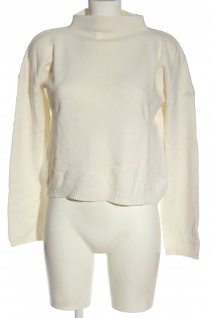 Lala Berlin Jersey de lana blanco puro look casual