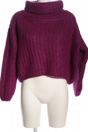Lala Berlin Wollpullover pink Casual-Look