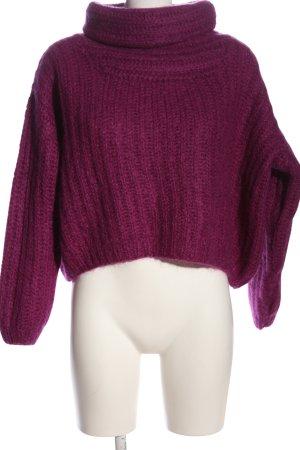 Lala Berlin Pull en laine rose style décontracté