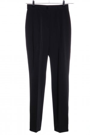 Lalique Paris Pantalón de pinza negro estilo «business»