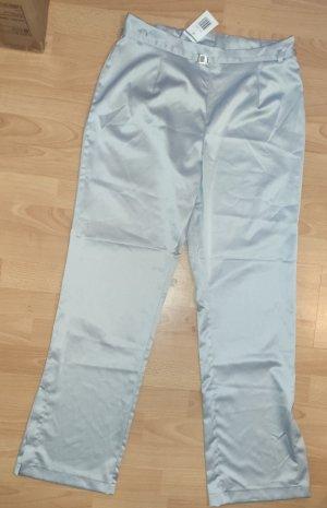 Spodnie ze stretchu srebrny