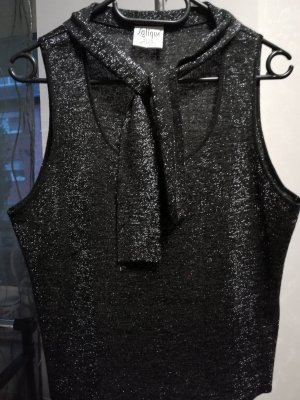 Lalique Paris Twin Set punto negro-color plata