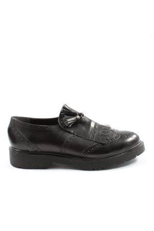 Lalu Protège-orteil noir style décontracté