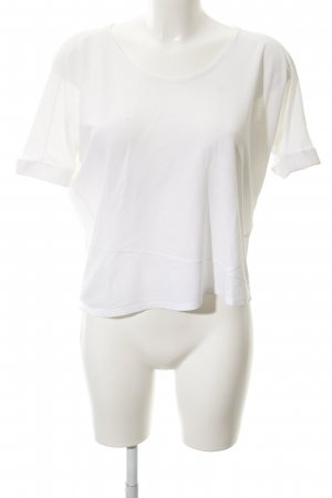 Lamberto Losani T-Shirt weiß Casual-Look