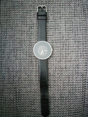 Lambretta Uhr schwarz