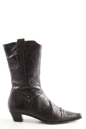 Lamica Absatz Stiefel schwarz extravaganter Stil