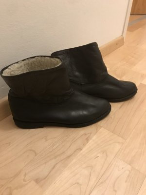 Lammfell Ankle Boots