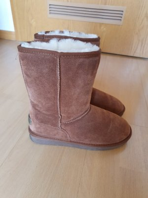 Lammfell Boots Echtleder