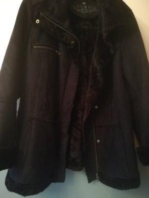 Sure Fake Fur Jacket dark blue