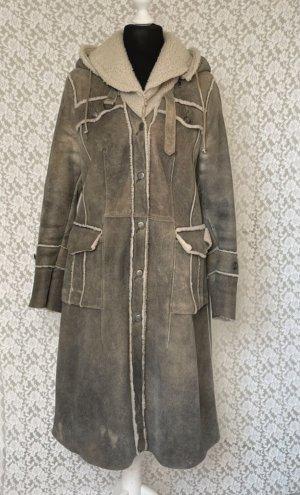 Leder Walter Skórzany płaszcz Wielokolorowy