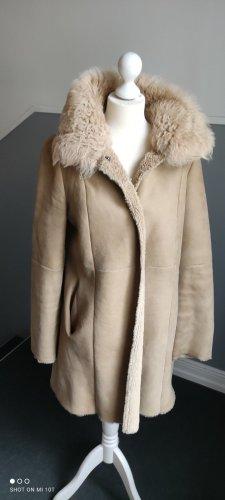 Christ Fur Jacket cream-light brown